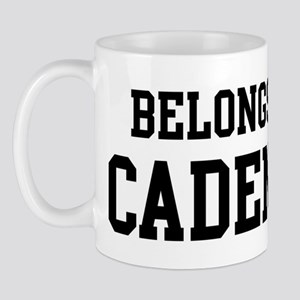 Belongs to Cadence Mug