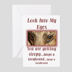 Hypnotic Greyhound Greeting Cards (Pk of 10)