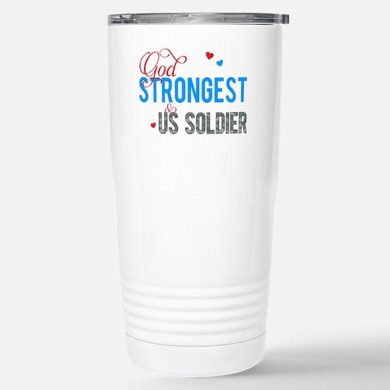 strongestARMY2 Stainless Steel Travel Mug
