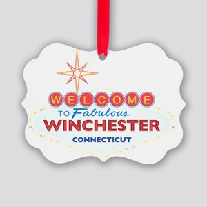 WINCHESTER Picture Ornament