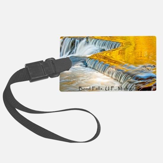 bondFalls_HDR_4X6_postcard Luggage Tag