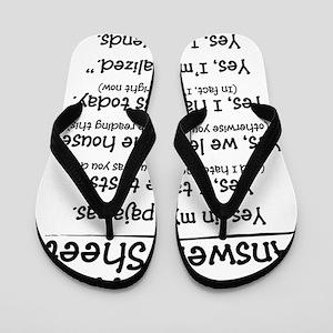 Homeschool Answers Flip Flops