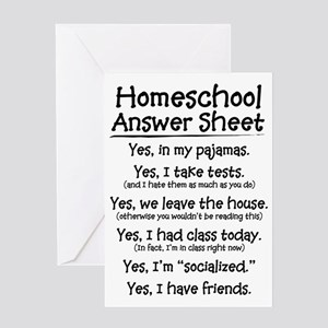 Homeschool Answers Greeting Card