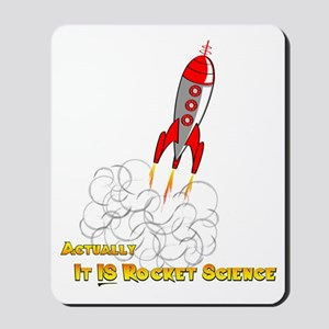 Rocket Science-edited copy Mousepad