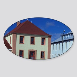 Office buildingsanada, Miquelon and Sticker (Oval)
