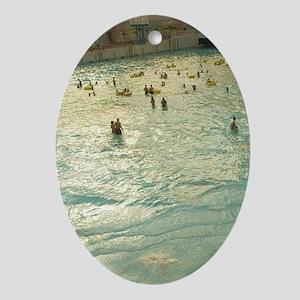 World Waterpark /Wavepool/ (NR) Edmo Oval Ornament