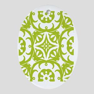 Matteo-Happy-flips Oval Ornament