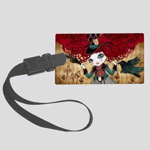 mad_riddle Large Luggage Tag
