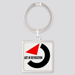 Artin Revolution Square Keychain