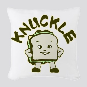 knuckle Woven Throw Pillow
