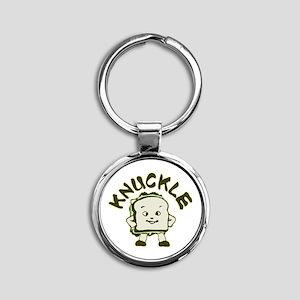 knuckle Round Keychain