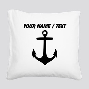 Custom Anchor Square Canvas Pillow