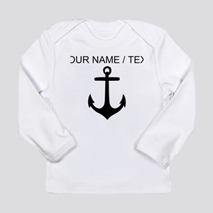 Custom Anchor Long Sleeve T-Shirt