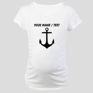 Custom Anchor Maternity T-Shirt