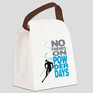 no friends Canvas Lunch Bag