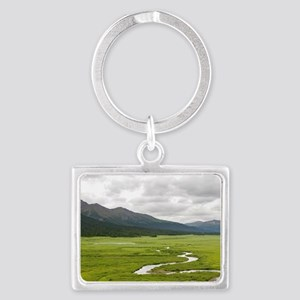 Headwaters of the Skeena River, Landscape Keychain