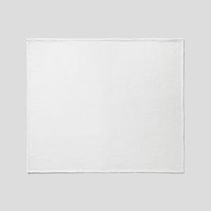 Puppymill_Frenchie_dark Throw Blanket