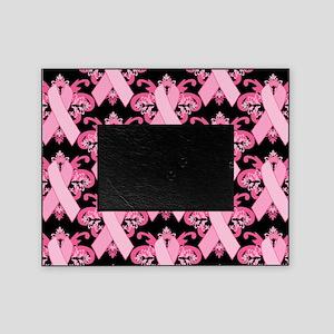 PinkribbonLLLpBsq Picture Frame