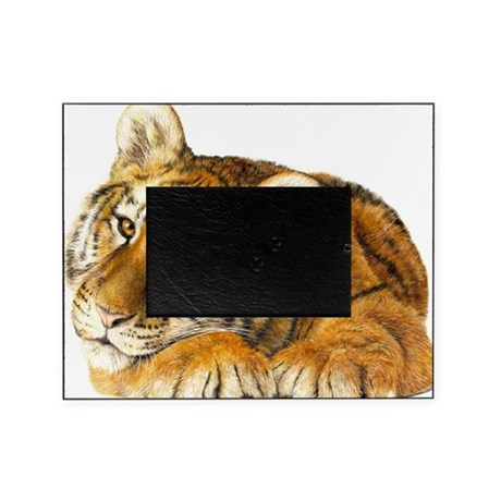 young tiger Picture Frame