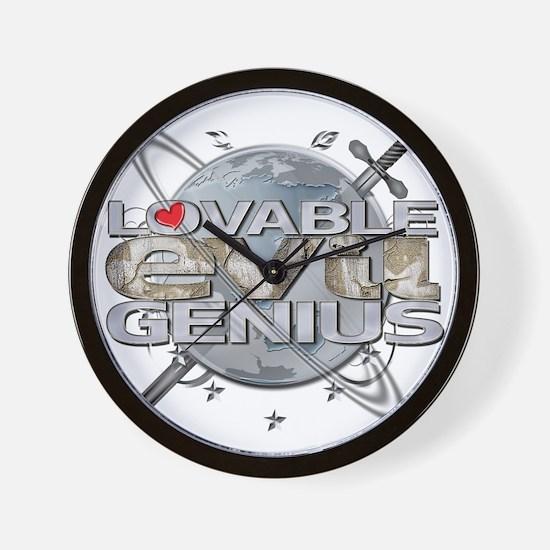 LEG3 Wall Clock