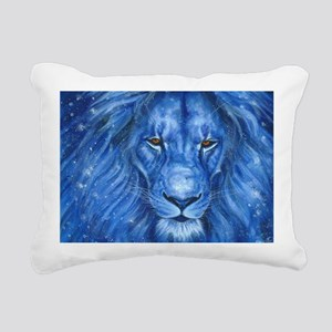 Winter Lion Rectangular Canvas Pillow