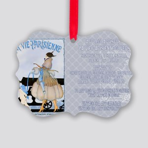 1 A GERDA LADY WAR inprisons LOVE Picture Ornament