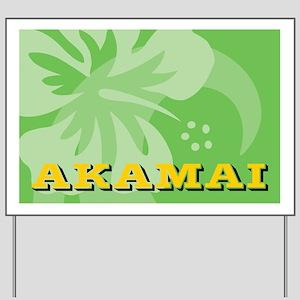 Akamai-banner Yard Sign