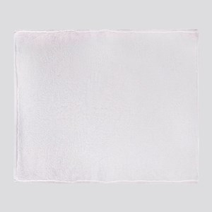 sculler_white Throw Blanket