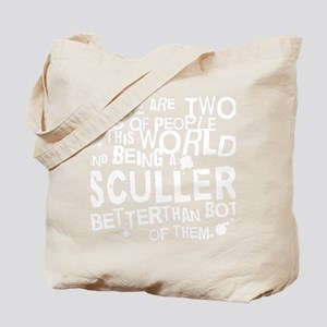 sculler_white Tote Bag