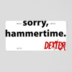 dexHammer6 Aluminum License Plate