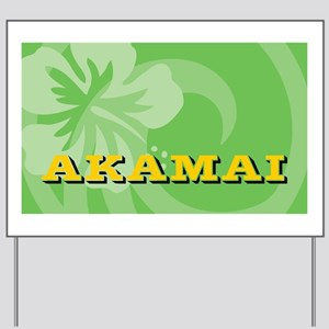 Akamai-Toiletry Yard Sign