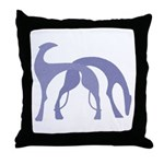 Hounds Pillow Violet