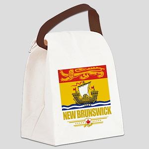 New Brunswick Flag (Flag 10) Canvas Lunch Bag