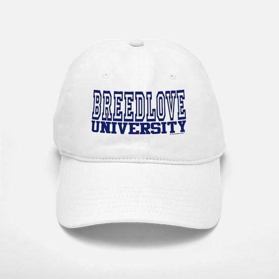 BREEDLOVE University Baseball Baseball Cap