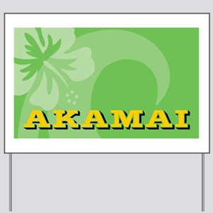 Akamai-20x12cm Yard Sign