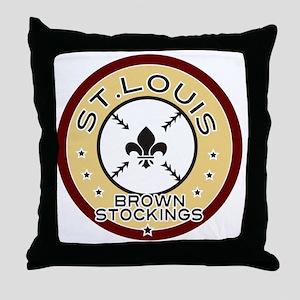 BSLOGOAlpha Throw Pillow
