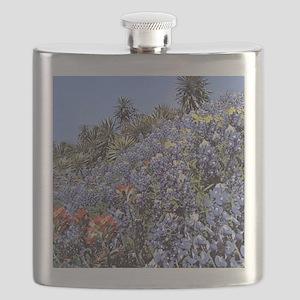 BLUEBONNETS AND CACTUS MOUSEPAD Flask