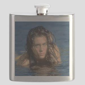 Gorgeous Babe travel mug cafe press Flask
