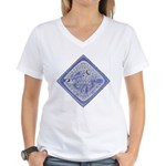 Original Meter Cover Women's V-Neck T-Shirt