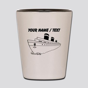 Custom Cruise Ship Shot Glass