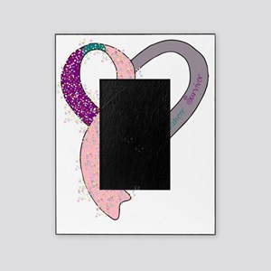 new heart ribbon PTPINK Picture Frame