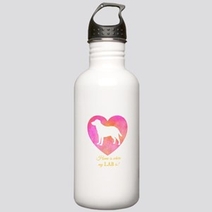home is where my lab i Stainless Water Bottle 1.0L