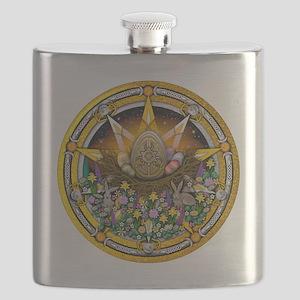 Ostara Pentacle Flask