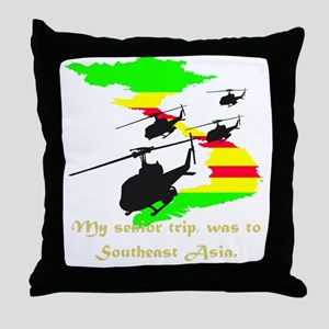 senior trip Throw Pillow
