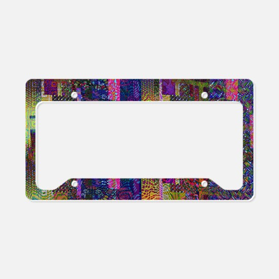 Multiple Style and Color Patt License Plate Holder