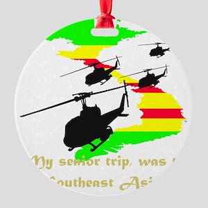 senior trip Round Ornament
