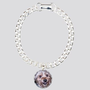 Maddies_Smile Charm Bracelet, One Charm
