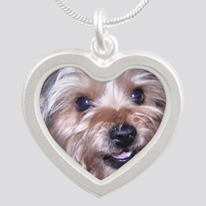 Maddies_Smile Silver Heart Necklace