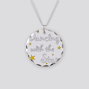 DWTS Necklace Circle Charm