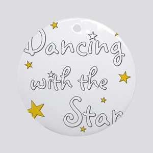 DWTS Round Ornament